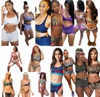 16 maillot de bain design femmes couleur push up licol soutien-gorge top + slip shorts 2 pièces bikini natation fixé maillot de bain maillot de bain Beachwear D7202