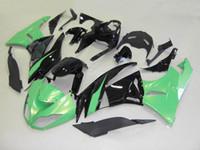 Kroppsarbete för Kawasaki Ninja ZX636 600CC ZX6R 09 10 11 12 ZX 6R 09 10 ZX-636 ZX 600 ZX 636 Kit KM17