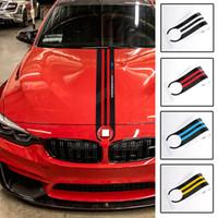 5D fibre de carbone modifié personnalisé voiture capot tête Body autocollant Stickers pour BMW