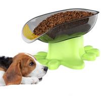 Vendita all'ingrosso Viaggio Fantasia PET Dog Cat Feeding Bowl Water Dish Feeder Plastic Basin Si Forniers Grandi ciotole per cani PET Prodotti forniture