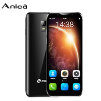 الهواتف المحمولة البسيطة المحمول الروبوت الذكي فتح I9 Android8.1 3GB + 32GB ROM صغيرة المزدوج سيم الأصلي 4G LTE VOLTE الصين الهاتف المحمول