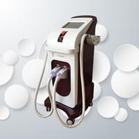 más nueva tecnología de depilación IPL SHR ND YAG láser multifunción belleza equipos máquina del balneario del salón de belleza de