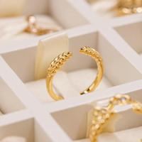 Nuovo anello in oro giallo 18 carati Set scatola originale per Pandora Real 925 Silver Green Grano Aperto Moda di lusso Regalo di lusso Anello per le donne