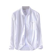 2019 Suehaiwe marchio manica lunga camicia di cotone uomo primavera moda camicie bianche uomo casual confortevole camicia maschile top chemise