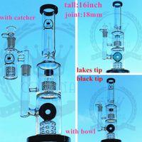 Цвет 16inch микроскоп бом стекла водопроводных труб нефтяных вышек стеклянные бонги кальян Трубы для курения барботер водопровод