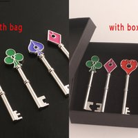 2 RPD Precinct Keychain Raccoon RE City Station Spade Club Heart Keys Pendant for Women Men Collection Jewelry With Box