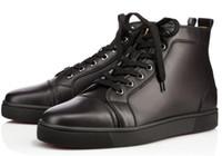 2019 Kırmızı Alt Casual Ayakkabı Sneakers Siyah Orlato Flats Yüksek Top Parti Sevenler Bayanlar Ace Gerçek Deri Womens Yeni Ayakkabı 02 Tasarımcılar