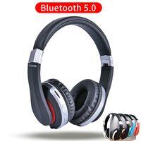 بلوتوث 5.0 سماعات لاسلكية طوي سماعة الأذن مع ميكروفون أكثر من أعماق باس مرحبا فاي الصوت والذاكرة لينة قطع الأذن البروتين