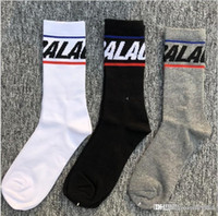 Popular logo socks in Europe and the United States in men an...