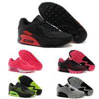 brand new 85ba3 ce041 Nuovo Arrive. Nike Air Max 90 Nuovo scarpe da corsa Cuscino 90 KPU Uomo  Donna Sneakers di Alta Qualità A Buon Mercato ...