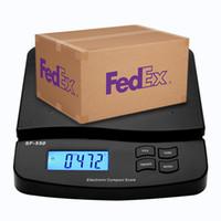 30KG / 1G Digital-Postpaketwaage Table Top Paket Brief-Porto Wiegen Elektronische Waagen LCD mit Hintergrundbeleuchtung mit Adapter