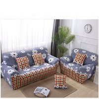 Slipcovers Sofa slip-resistant envoltório apertado all-inclusive secional elástico sofá cheio Capa / toalha Single / Two / Three / Four-seater