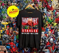 Stan Lee Real Hero T- Shirt Stan Lee Fathers Of Marvel Black ...
