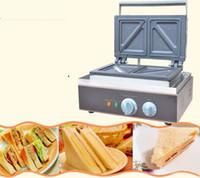 110 в 220 в коммерческих сэндвич машина сэндвич чайник завтрак чайник машина хлеб тостер духовка электрическая кухня оборудование вафельные машины