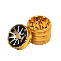 New Metal Herb Grinder 4 Parts 56mm Zinc Alloy Herbal Cigare...