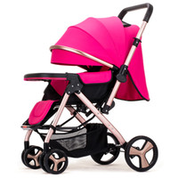 High landscape stroller can be adjusted in both directions t...