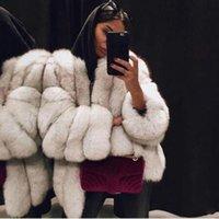 Mulheres de alta qualidade Mulheres casaco de pele quente aquecido casaco de pelúcia de pelúcia outono inverno luxo macio casaco de pele para as mulheres grosso outwear 4xl