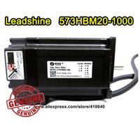 Servo motore ibrido Leadshine 573HBM20 aggiornato da 57HS20-EC1.8 grado 2 Fase NEMA 23 con encoder 1000 line e 1 N.m di coppia