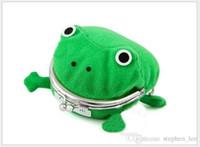 Neue Heiße Verkauf Kinder Grüner Frosch Geldbörse Cartoon Anime Cosplay Frösche Brieftasche Kinder Nette Persönlichkeit Geldbörse