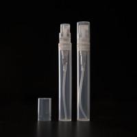 5 mL(0.17 oz) riutilizzabile riutilizzabile Mist Mini bottiglie Spray atomizzatore pompe per profumo, lozione viaggi-bottiglie di plastica vuote e chiaro Testa Della Pompa