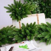 20Pcs / Piante Confezione Pz artificiali rami di pino albero di Natale accessori fai da te nuovo anno Decorazione per feste di natale degli ornamenti del regalo bambini