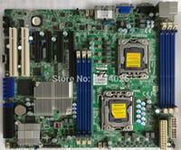 100% Probado obra perfecta para X8DTL 3F-1366 de doble estación de trabajo servidor X58 placa base