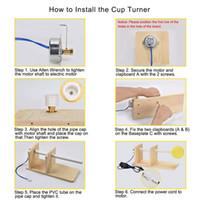 Tasse Turner for Crafts Tumbler mit motorischer elektrischer Tumbler-Spinner Rotierender Tasse DIY MF999