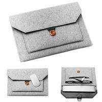 "11/12/13/14/15"" Laptop Sleeve Войлок Ultralight ноутбуков Tablet Pad Case Multi-карман сумка Портфели для Apple Macbook / Asus"