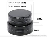 55mm / 63mm 2layer Tabakmühle Space Case für das Rauchen Aluminium CNC-Metallgrinder freies Verschiffen