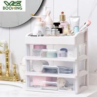 WBBOOMING maquillage Organisateur Tiroirs en plastique cosmétiques Boîte de rangement de bijoux Container Make Up Maquillage Case brosse Organisateurs Holder