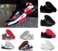 2018 zapatos de zapatillas de deporte de los hombres baratos clásico 90  para hombre zapatillas al 01acde95199c8