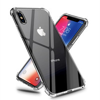 Clear Silicone Soft TPU Case For 7 7Plus 8 8Plus X XS MAX XR...