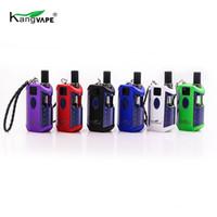 1PC Kangvape TH710 Kit Oil Grosso com Box Tensão da bateria 650mAh Ajutable Mod Ceramic Bobina Vape Cartucho para TH710 420 Thick Oil vaporizador