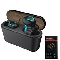 Q32 TWS Bluetooth 5.0 per cuffie auricolari con la Banca di potere Mini Wireless Stereo Headset Sport cordless vivavoce EDR Gaming Earbud Mic