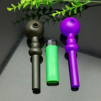 New type of high temperature color- changing gourd glass ciga...