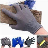 Anti Slip Gloves Nylon Beaded No Static Breathable Wear- resi...