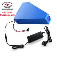 1000W 1500W 2000W Dreieck Ebike Batterie 48V 30Ah Lithium-Ionen-Akku Verwendung 13S10P NCR18650 29PF Zellen