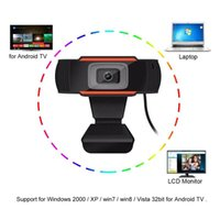 USB Web Cam Webcam HD 720P 300 Megapixel PC Camera with Absorption Microphon MIC for Skype For Android TV Rotable Computer Camera