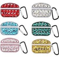 Luxus Big Diamant-Kasten für Airpods Pro Designer Protective Cover Bling Bling Strass Kopfhörer Schutz für Airpods 3