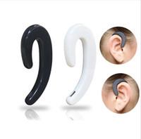 Совместимость S-103 безболезненное Висячие беспроводной Bluetooth наушники Портативный мини-Ear крючок гарнитуры Нет Earplug наушники с микрофоном