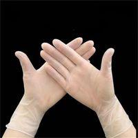 ПВХ Прозрачные Перчатки Одноразовые Прозрачные Цветные Перчатки Руки Защитные Перчатки Бытовая Защита Высокое Качество Оптовая Продажа 0 23 H1
