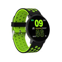 IP67 pressione di ossigeno impermeabile W8 intelligente degli uomini della vigilanza Donne SmartWatches frequenza cardiaca sanguigna Monitor Fitness Tracker intelligente nastro per iPhone Android