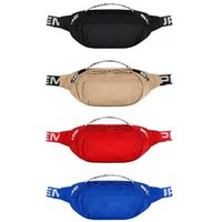 Sup Waist Bag 44th Fanny Pack Fashion Men Hip- Hop Canvas Mes...