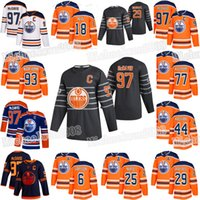 Edmonton Oilers 2020 All Star Game Connor McDavid Leon Draisaitl James Neal Mike Smith Nugent-Hopkins Kassian Klefbom Darnell Nurse Jersey