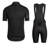 RAPHA verano para hombre de manga corta ropa desgaste de la bici Jersey de ciclo del babero SET MTB uniforme Pro Cycling ropa de la bicicleta Maillot Culote zefengst