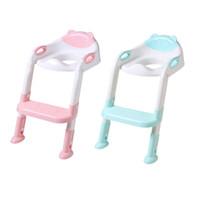 Katlanır bebek lazımlık Bebek Çocuk tuvalet eğitimi koltuk ayarlanabilir merdiven ile taşınabilir Pisuar lazımlık Eğitim koltuklar için çocuk ücretsiz kargo