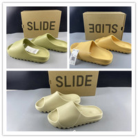 2020 Neue Folie Pantoffeln Sandalen Männer Frauen lässige Outdoor-Mode Trainer qinmin123 Top-Qualität Größe Turnschuhe Basketballschuhe 37-46