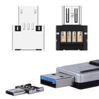 Adaptateur de convertisseur MINI micro USB OTG mâle aux adaptateurs femelles pour clavier PC Tablet PC de téléphone mobile