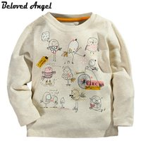 Children Long Sleeve T- Shirt Autumn Winter 100% Cotton Kids ...