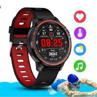 L8 Smart Watch Men watch watch IP68 Watch SmartWatch ECG Blood Pressure Heat Rate sports Pedometer Record pk L5 L9 smart watch